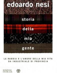 """""""Storia della mia gente"""" di Edoardo Nesi (Bompiani)"""